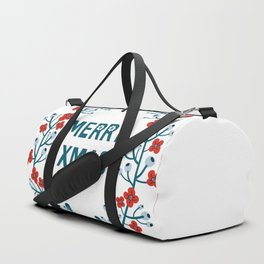 A Scandinavian Christmas - classic wreath Duffle Bag