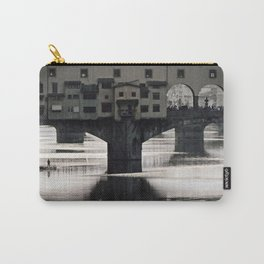 Ponte Vecchio {bw Carry-All Pouch