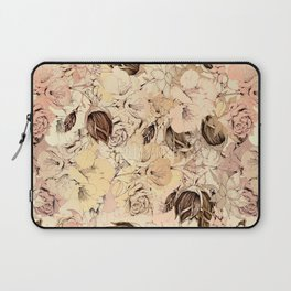 pattern Flowers Laptop Sleeve
