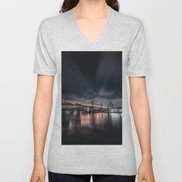 59th Street Bridge Unisex V-Neck