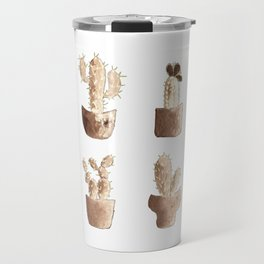 One cactus six cacti original version Travel Mug