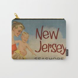 New Jersey Vintage Poster Carry-All Pouch