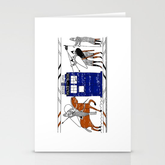 Nocens Lupus (Bad Wolf) Stationery Cards