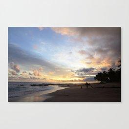 Sunset in Santa Teresa Canvas Print