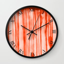 Blood Stain Wall Clock