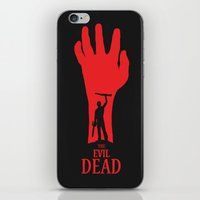 evil dead iPhone & iPod Skins featuring Evil Dead by Alan Coughlan
