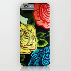 Rose Mural (Part One) iPhone 6s Slim Case