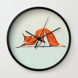 Fox 2 Wall Clock