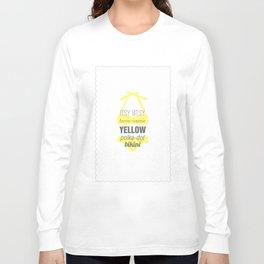 Yellow Polka Dot Bikini Long Sleeve T-shirt