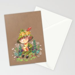 Snufkin playing Accordion Stationery Cards