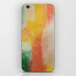 multi color wall art iPhone Skin