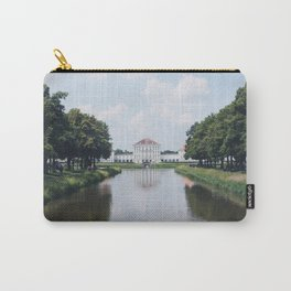 Paris, France Travel Photography Vintage Retro in stock 7 x 10 Fine Art Photography Dreamy Carry-All Pouch