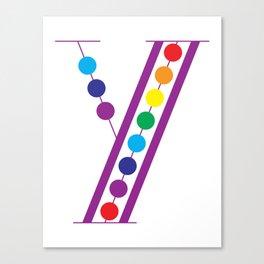 Y – Color Canvas Print