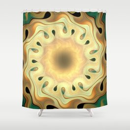 Oscillation Shower Curtain