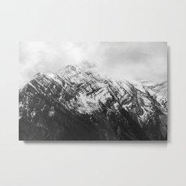 Snow Capped Beauty Metal Print
