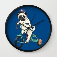 Haters gonna hate LA Wall Clock