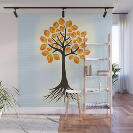Abstract tree Wall Mural