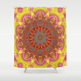 Sunny Relaxation Star Shower Curtain