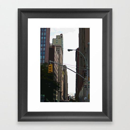 Slicelight Framed Art Print