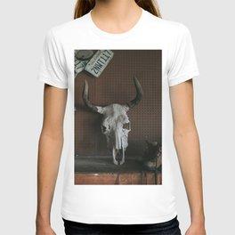 Long Horn Skull T-shirt