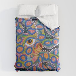 Blue Ringed Octopus Comforters
