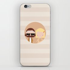 Margot & Richie iPhone & iPod Skin