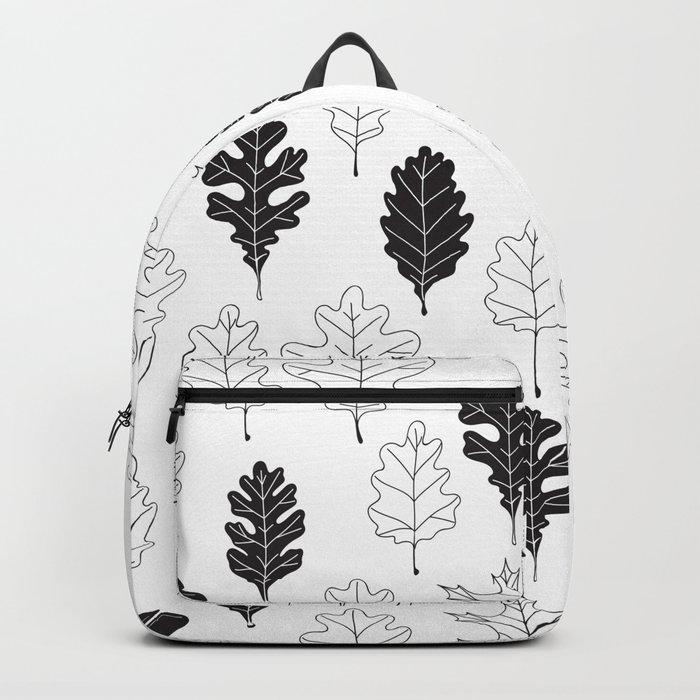 Oak leaves pattern design Backpack