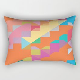 color story - playtime Rectangular Pillow