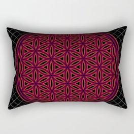 Flower of Life I Rectangular Pillow