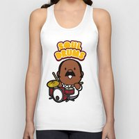 drums Tank Tops featuring Soul Drums ! by bbq source