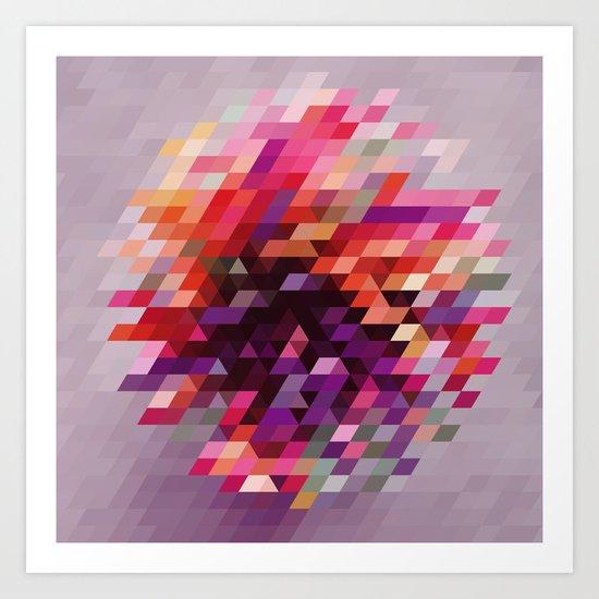 Cluster bir Art Print