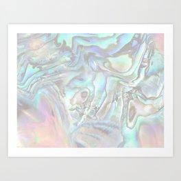 abalone whisper Art Print