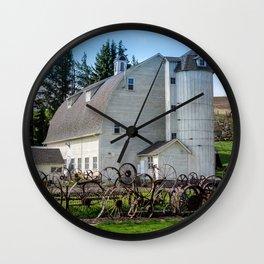 Historic Uniontown Washington Dairy Barn Wall Clock
