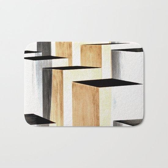 abstract#349 Bath Mat