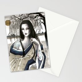tale of Genji - Ono no Komachi Stationery Cards