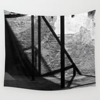 solid Wall Tapestries featuring Solid shadows by LaCatrina.it