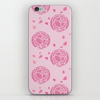 utena iPhone & iPod Skins featuring Rose Seal by ZeNami