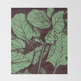 horseradish Throw Blanket