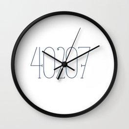 40207, zip code, Indian Hills, Kentucky, St. Matthews Wall Clock