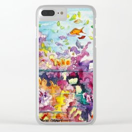 Biscayne National Park Clear iPhone Case