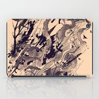 chaos iPad Cases featuring Chaos by nicebleed