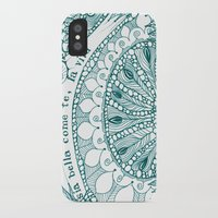 amy sia iPhone & iPod Cases featuring Sia Bella Come Te by Jen Fleming