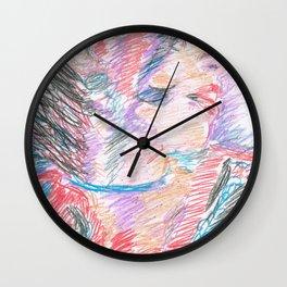 Chouchou 2 Wall Clock