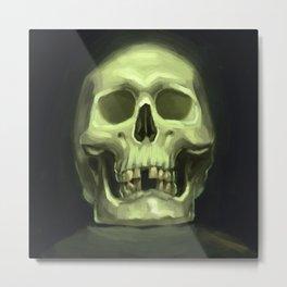 Skull painting Metal Print