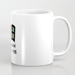 Vaporwave 95 Coffee Mug