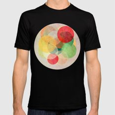 The Round Ones Mens Fitted Tee MEDIUM Black