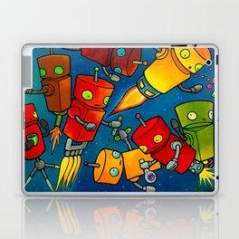 Robot - Robot Party 2 (Zero Gravity) Laptop & iPad Skin