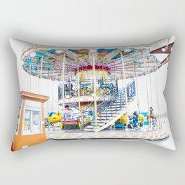 Merry-Go-Round in Paris Rectangular Pillow