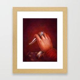 Engaged Framed Art Print