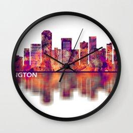 Lexington Kentucky Skyline Wall Clock
